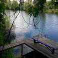 Продам участок на берегу озера Радужный район.