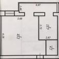 Квартира в Ривер Парке 63м2 3 окна