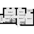 Продажа трехкомнатной квартиры в Буче, ЖК Millennium State