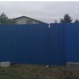 Участок в Обухове на Дзюбовке с забором и фундаментом