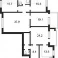5ти комнатная Тургеневская 52/58 квартиру 160 кв.м ремонт