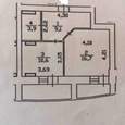 Продажа 2 комнатная ул.Бударина,3а 45м  евроремонт, метро Жи