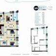 Продажа 3 комнатная квартира ЖК Славутич 98м под отделку,мет